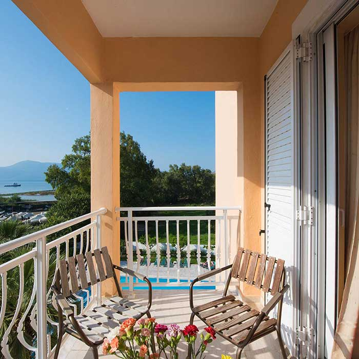 Corfu Town Hotel - Facilities - Balkoni