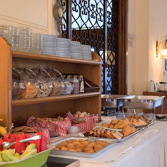 Corfu Town Hotel - Facilities - Breakfast