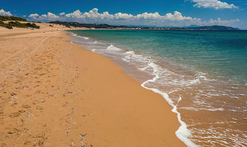 Issos Beach Corfu - Corfu Town Hotel