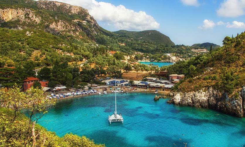 Paleokastritsa Beach Corfu - Corfu Town Hotel